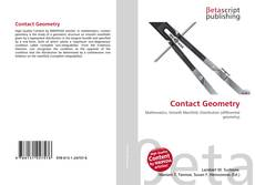 Bookcover of Contact Geometry