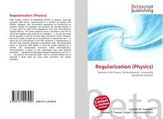 Couverture de Regularization (Physics)
