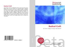 Bookcover of Radical Craft