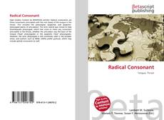 Bookcover of Radical Consonant