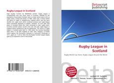 Capa do livro de Rugby League in Scotland