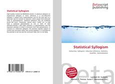 Bookcover of Statistical Syllogism