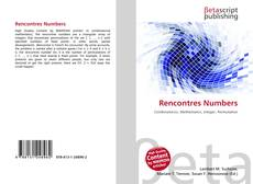 Bookcover of Rencontres Numbers