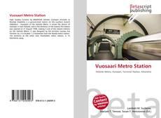 Vuosaari Metro Station kitap kapağı