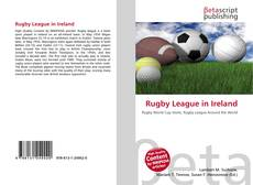 Bookcover of Rugby League in Ireland