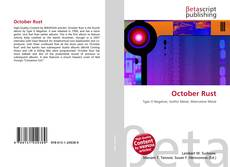 Bookcover of October Rust