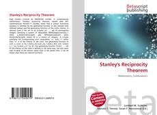 Capa do livro de Stanley's Reciprocity Theorem