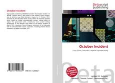 Bookcover of October Incident