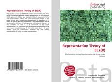 Representation Theory of SL2(R) kitap kapağı