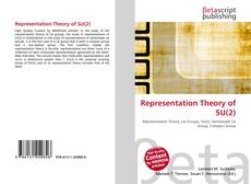 Bookcover of Representation Theory of SU(2)