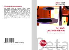 Bookcover of Ocypode Ceratophthalmus