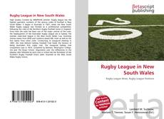 Capa do livro de Rugby League in New South Wales