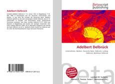 Couverture de Adelbert Delbrück