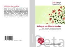 Portada del libro de Adelgunde Mertensacker
