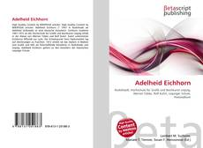 Buchcover von Adelheid Eichhorn