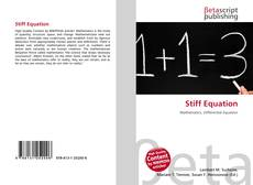 Bookcover of Stiff Equation