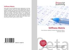 Bookcover of Stiffness Matrix