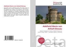 Bookcover of Adelheid Marie von Anhalt-Dessau
