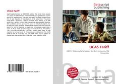 Bookcover of UCAS Tariff