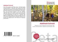 Buchcover von Adelheid Schmid