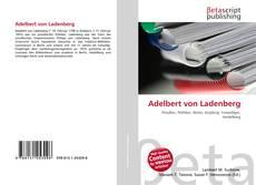 Bookcover of Adelbert von Ladenberg