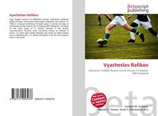 Buchcover von Vyacheslav Rafikov