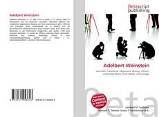 Adelbert Weinstein的封面