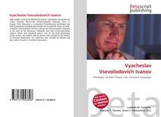 Couverture de Vyacheslav Vsevolodovich Ivanov