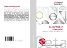 Bookcover of Concentration Dimension