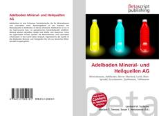 Portada del libro de Adelboden Mineral- und Heilquellen AG