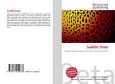 Bookcover of Saddle Shoe