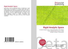 Bookcover of Rigid Analytic Space