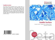 Bookcover of Saddle Surface