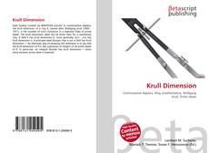 Couverture de Krull Dimension