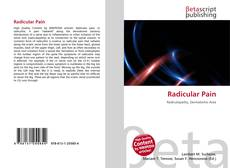 Bookcover of Radicular Pain