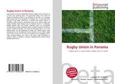Copertina di Rugby Union in Panama