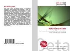 Bookcover of Rotation System
