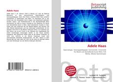 Bookcover of Adele Haas