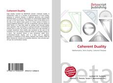 Bookcover of Coherent Duality