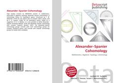 Bookcover of Alexander–Spanier Cohomology