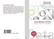 Bookcover of Dual Abelian Variety