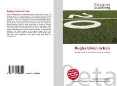 Borítókép a  Rugby Union in Iran - hoz