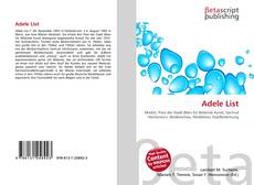 Bookcover of Adele List