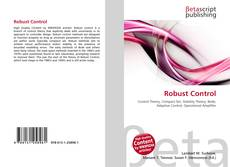 Bookcover of Robust Control