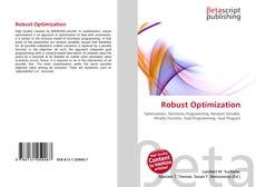 Bookcover of Robust Optimization
