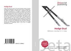 Capa do livro de Hodge Dual