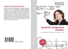 Copertina di Quadratic Assignment Problem