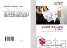 Copertina di Quadratic Eigenvalue Problem