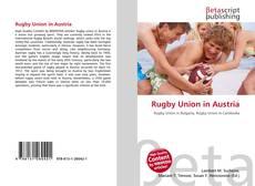 Copertina di Rugby Union in Austria