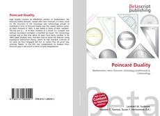 Bookcover of Poincaré Duality